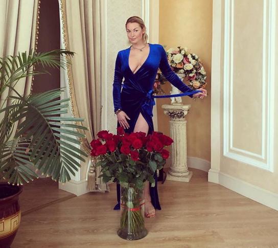 Анастасия Волочкова намекнула нановую влюбленность