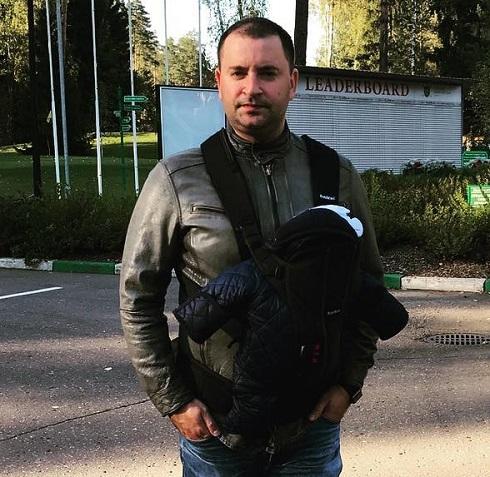 Леонид Закошанский представил публике сына