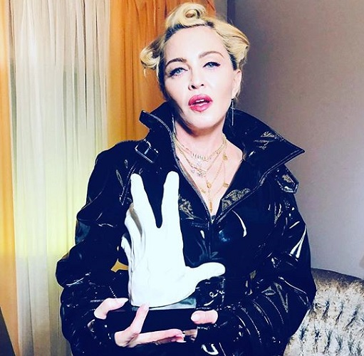 Мадонна неизменяет латексу
