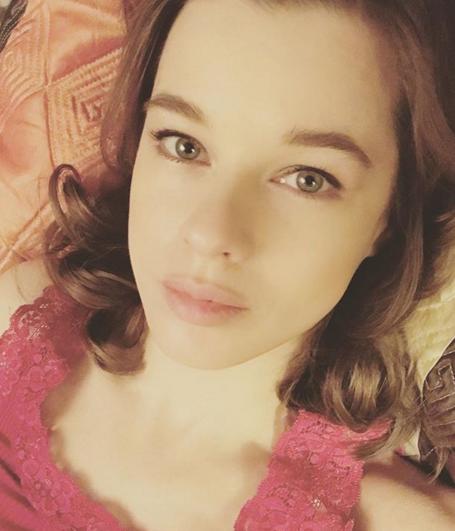 Катерина Шпица потеет вспортзале